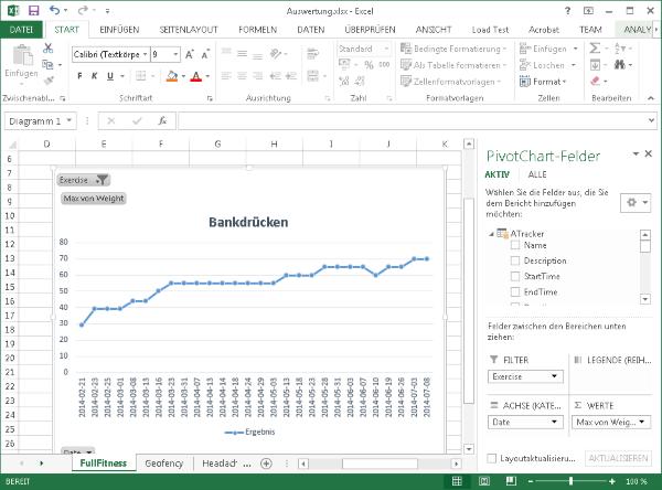 Excel Export/Import