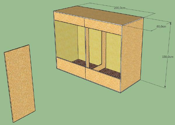 Terrarium Skizze 1