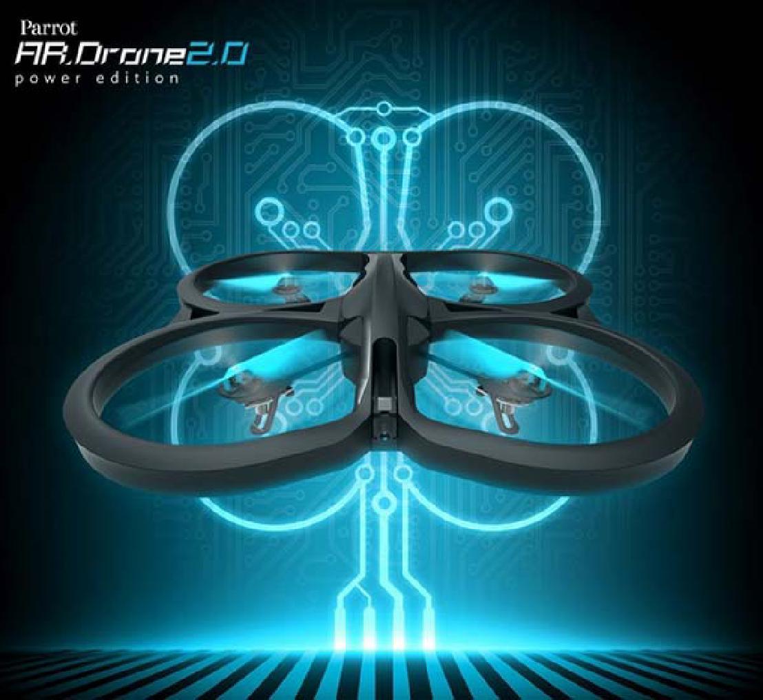 Parrot AR Drone 2.0 mit Raspberry Pi steuern
